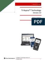 TI-Nspire Release 2.0