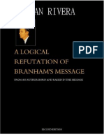 A Logical Refutation of Branham's Message