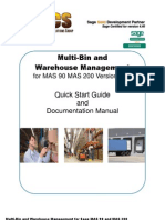 WH Multi-Bin Manual 440