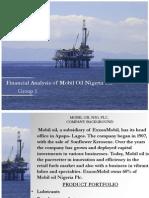 Mobil Nigeria Financial Statement Analysis