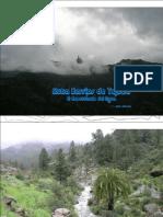 Lluvia en El Barranco de Tejeda