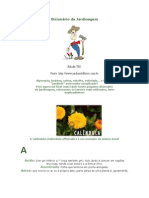 Dicionário Ilustrado de jardinagem