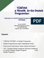 TUBITAK_TEYDEB