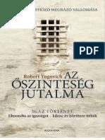 Az Oszinteseg Jutalma - Yugovich, Robert