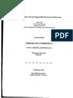 Ferrara e Il-rischio Terremoti