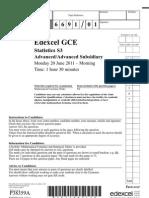 S3 June 2011 Question Paper