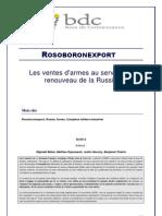Rosoboronexport - Report - FR