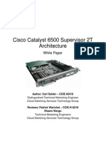 Cisco 6500 Sup 2T Architecture