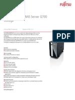 Fujitsu Q700 - Especificações
