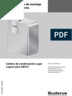 CALDERAS BUDERUS Instrucciones Montaje Mantenimiento GB312[1]