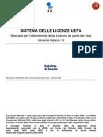 Manuale Licenze Uefa