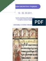 Katalog Stara I Rijetka Knjiga