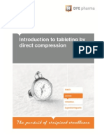 Introduction to Tableting by Direct Compression