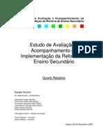gaaires [isabel duarte et al] 2007_estudo de avaliação e acompanhamento da implementação da reforma do ensino secundário, quarto relatório