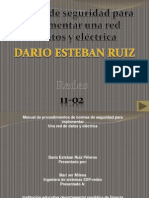 Manual de Normas de Seguridad Para La Implementar Una Red de Datos y Electrica