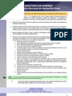 Direccion Nacional de Ventanilla Unica - Requisitos para la Tramitación de Urbanizaciones en la Etapa de Anteproyecto