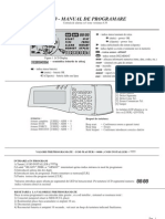 Manual Prog CA60 RO