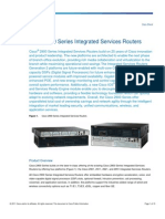 Cisco 2901 Router Datasheet