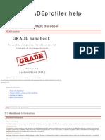 Grade Handbook