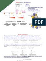 12.Alkynes Hybridization