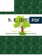 N.E. Quest, Volume 6, Issue 1 April 2012