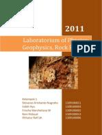 Laporan Fisika Laboratorium Geofisika Fisika Batuan 1