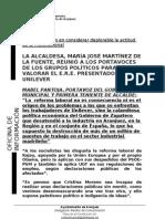 REUNIÓN PORTAVOCES PARA VALORAR EL E.R.E. DE UNILEVER