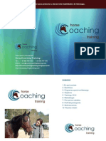 Horse Coaching Training DOSIER EMPRESAS