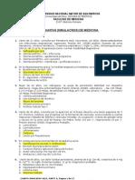 Examen Medicina Interna Banco Unmsm 2012