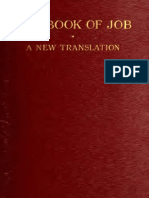 The Book of Job, Including _The Oldest L - E. W. Bullinger