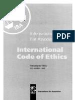 IBA_code of Ethics