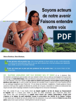 Nouvelle Profession de foi  - Joelle PREVOT-MADERE & Nemea DAMAS - Legislatives 2012
