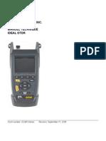 33-960 Series Manual FR