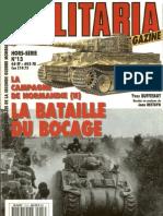 HS MILITARIA n°13 - La bataille du bocage
