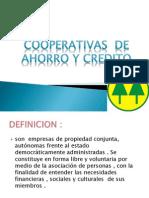 Cooperativas de Ahorro y Credito Mdfca