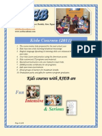 Kids Courses (Alex English Version)
