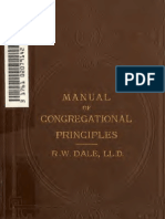 A Manual of Congregational Principles