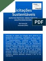 ASPECTOS PRÁTICOS DAS LICITAÇÕES SUSTENTÁVEIS - OBRAS PÚBLICAS - GUIA NAJ E IN