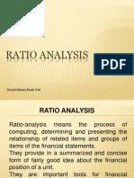 Ratio Analysis Bank Class