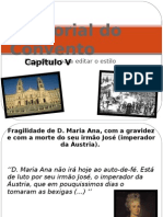 Memorial Do Convento Capitulo v - Patricia Gomes