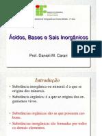 Ácidos, Bases e Sais inorgânicos (2)