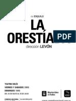 Dossier LA ORESTÍADA (1)