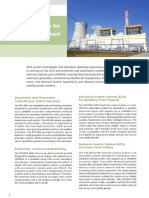 Solutions for Power Plants
