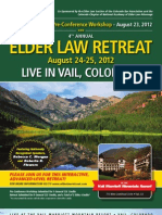 Elder Law Retreat 2012