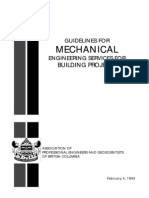 Guidelines Mechanical for Building