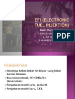 EFI (Electronic Fuel Injektion)