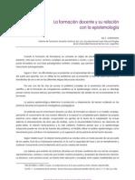 La Formacion Docente y Su Relacion Con La Epistemologia