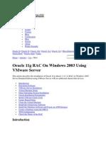 11g RAC on win 2003