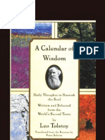 Tolstoy's Calendar of Wisdom: Daily Thoughts to Nourish the Soul, Written and Selected from the World's Sacred Texts
