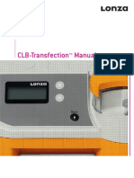 Lonza Manual CLBTransfection